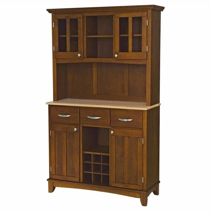 bowery hill wine rack buffet with