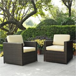 Wicker Patio Chair Set Of 2 Covers In Argos Bowery Hill
