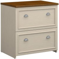 Fairview 2 Drawer Lateral Wood File Cabinet in White ...