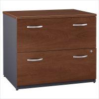 Bush Furniture Series C 2 Drawer Lateral Wood File Hansen ...