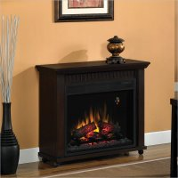 Classic Flame Chimney Free Rolling Electric Fireplace | eBay