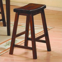 Chair Stools Height White Spandex Covers Bar Stool Heights Guide Buying Homelegance Saddleback 18 Seat In Warm Cherry Finish Set Of 2