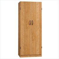 Sauder Beginnings Highland Oak Finish Storage Cabinet