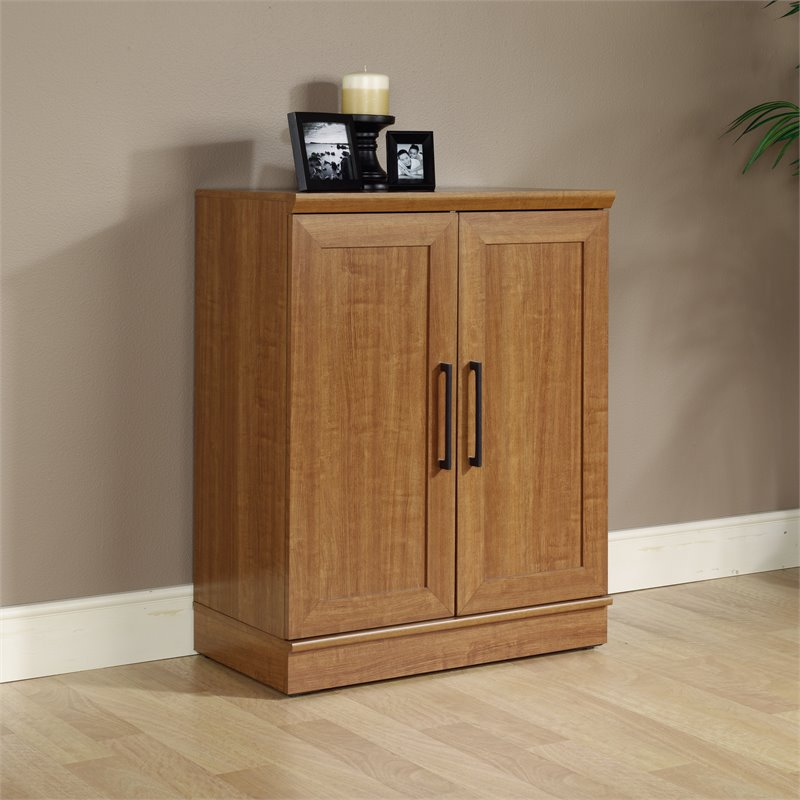 Sauder Homeplus Base Sienna Oak Finish Storage Cabinet  eBay