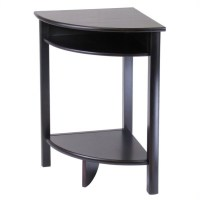 Winsome Liso Corner Table Wood Other Wood Contemporary ...