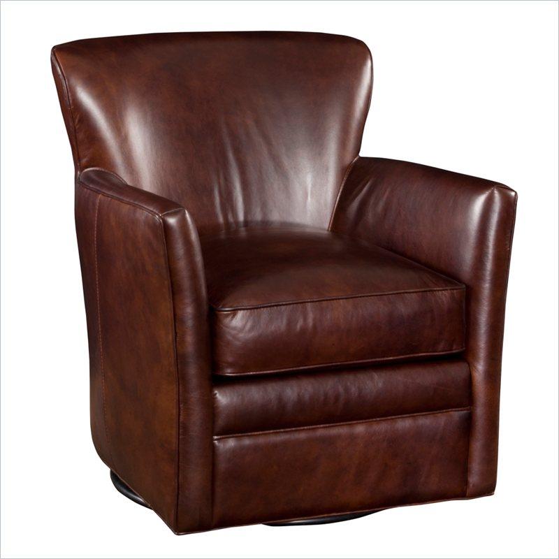 Hooker Furniture Seven Seas Swivel Halona Native Leather
