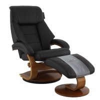 Mac Motion Chairs Oslo Recliner And Ottoman Set In ...