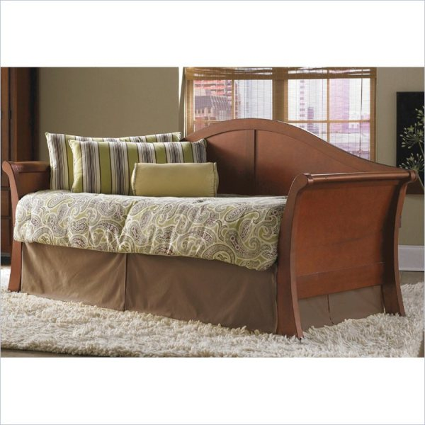 Fashion Bed Stratford Twin Size Wood Mahogany Daybed