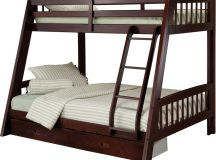 Hillsdale Rockdale Twin over Full Bunk Bed Set Espresso | eBay