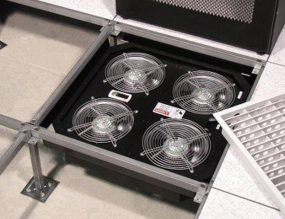 tate puts four vfd fans under a raised