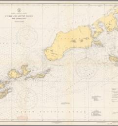 alaska aleutian islands unimak and akutan passes and approaches  [ 1536 x 1218 Pixel ]