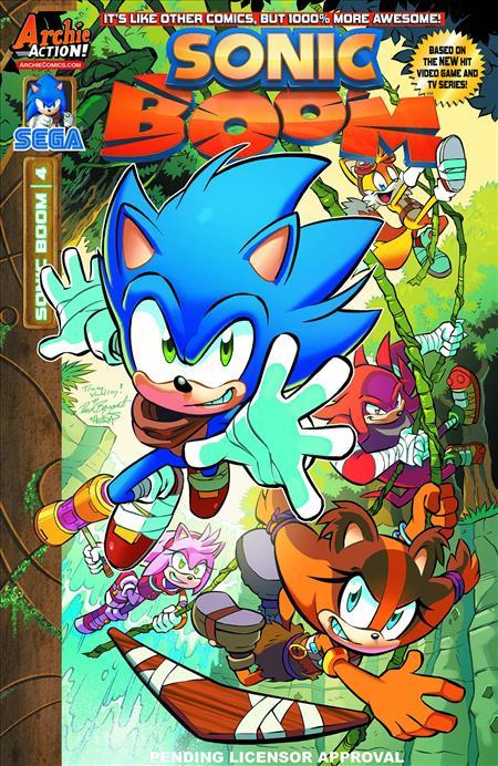 Sonic Boom 4 Discount Comic Book Service