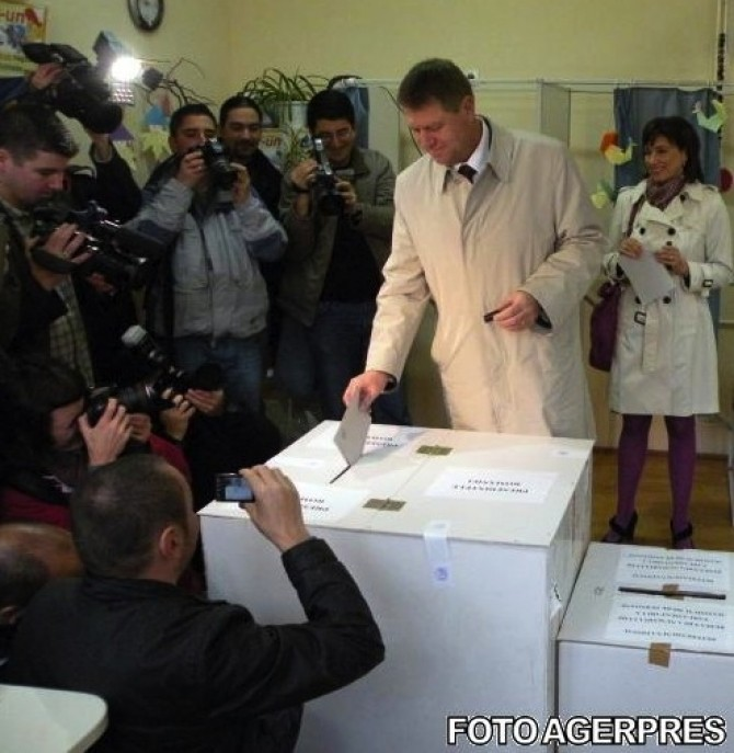 iohannis urna vot