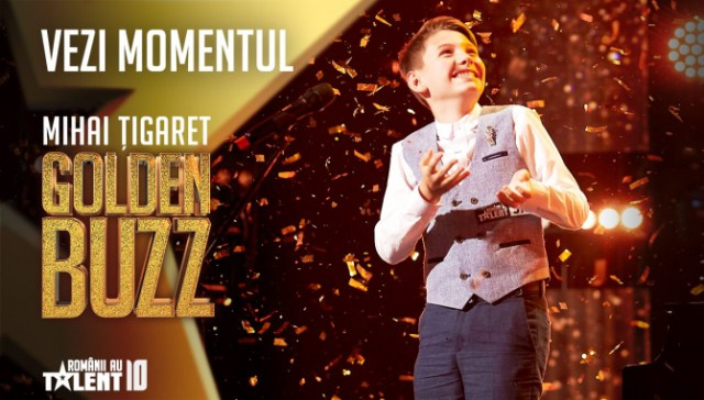 Mihai Țigaret-Românii au talent 2020/Golden Buzz 1