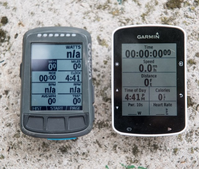 Heres The Thing Insofar As Being A Gps Bike Computer Goes Both These Units Do A Pretty Darn Good Job Meaning That Youre Unlikely To Run Into Any