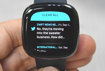 FitbitSense-Notifications