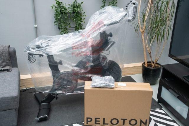 Peloton-BikePlus-Unboxing