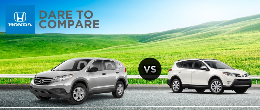 medium resolution of 2014 honda cr v vs 2014 toyota rav4