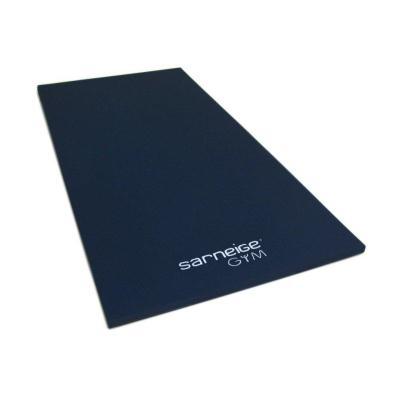 tapis de gym epaisseur 4 cm thermosoude solo bleu