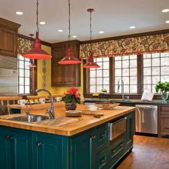 Red Kitchen Light Shades Honest Embark Кухня Интерьер с Quotостровом Quot