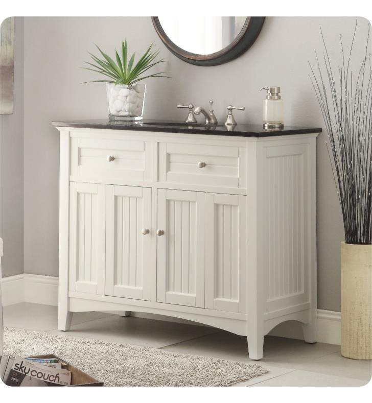 Chans Furniture Cf 47532gt Benton Thomasville 42 Freestanding Cottage Style Single Bathroom Vanity In White