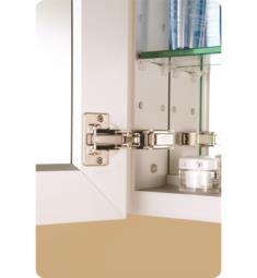 semi-recessed medicine cabinets