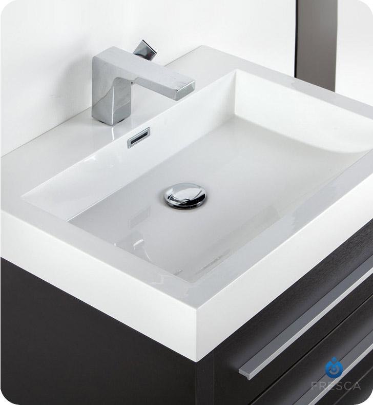 Fresca FVN8024BW Livello 24 Modern Bathroom Vanity with