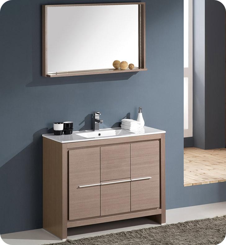 Fresca FVN8140GO Allier 40 Modern Bathroom Vanity with