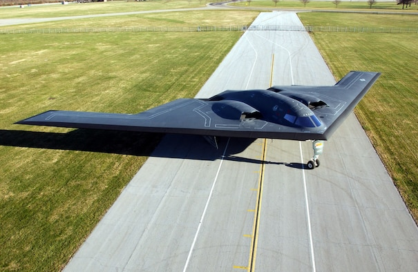 DAYTON, Ohio -- Northrop B-2 Spirit at the National Museum of the United States Air Force. (U.S. Air Force photo)