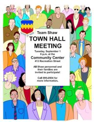 Town Hall Meeting Cartoon Images 1
