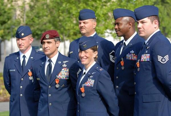 Combat Action Medal Maj Steven Raspet gt National Museum