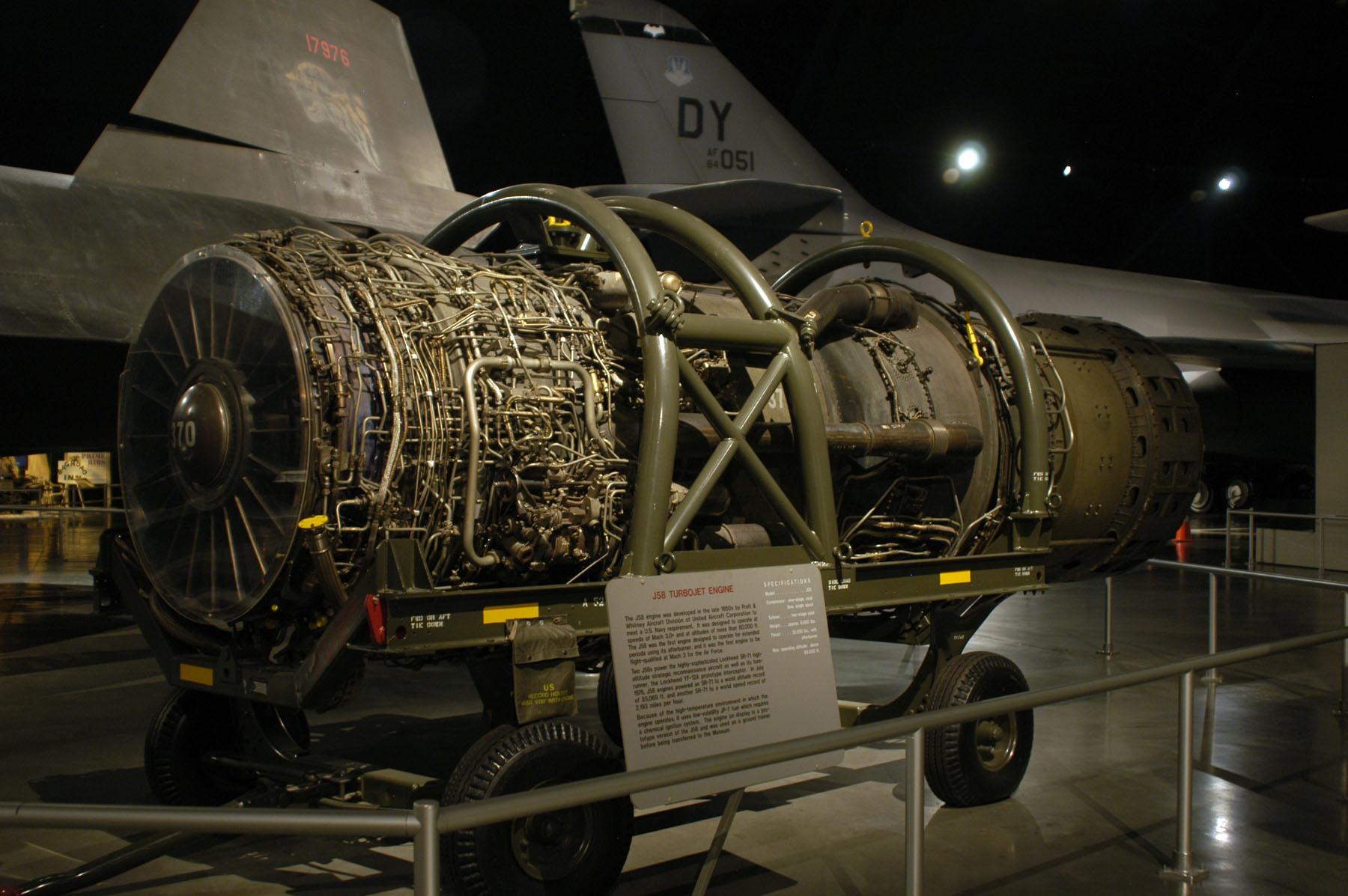 Pratt Amp Whitney J58 Turbojet Gt National Museum Of The Us