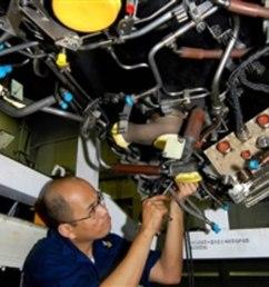 u s navy petty officer 1st class james gregorio installs a wiring harness on an f  [ 1088 x 726 Pixel ]