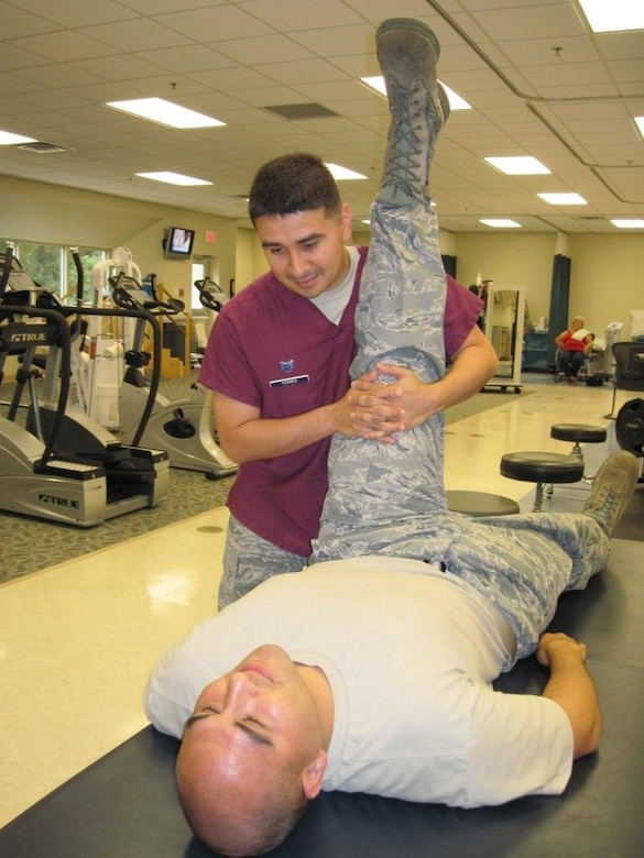 96 MDG physical therapy rehabilitates lives  Eglin Air Force Base  Article Display