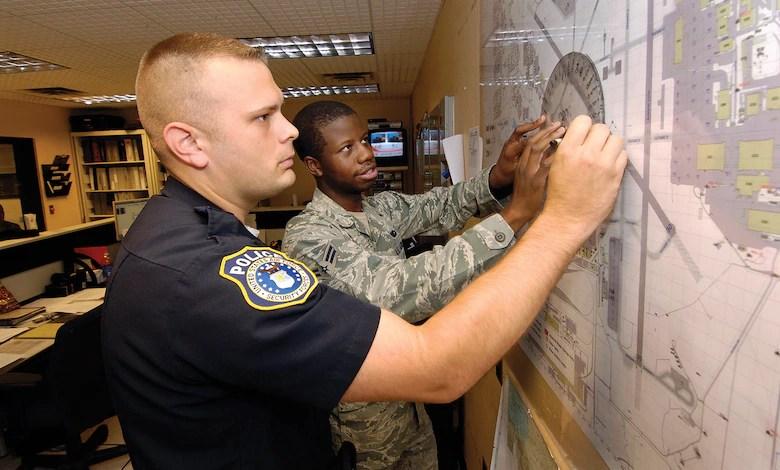 Alongside Airmen DOD police guard Tinker serve community  Tinker Air Force Base  Article Display