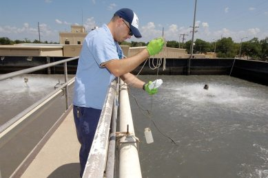 Greening Tinker: Water treatment plant gushing about conservation ...