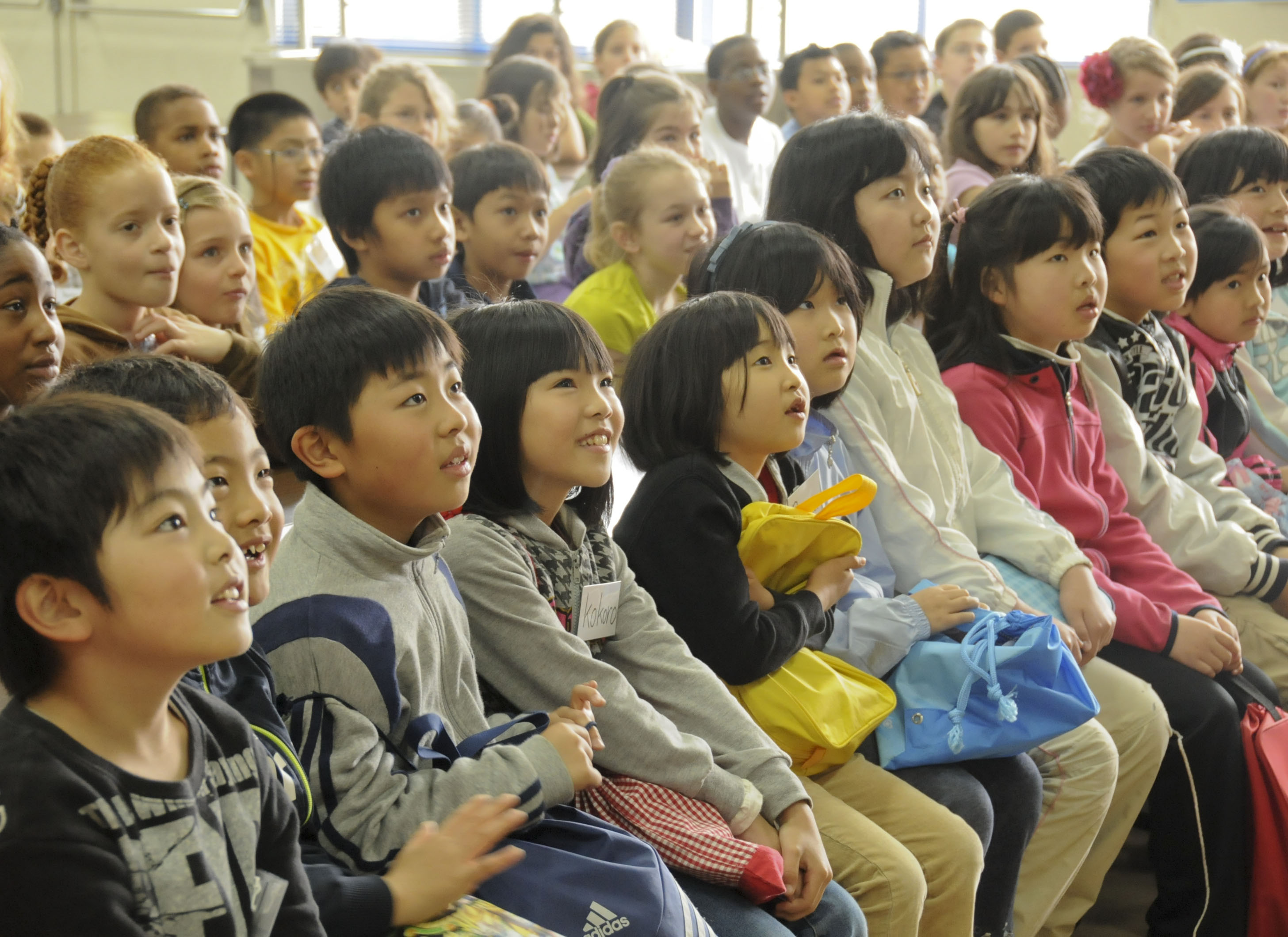 Japanese Children Experience American School For The Day Gt 5th Air Force Gt Article Display