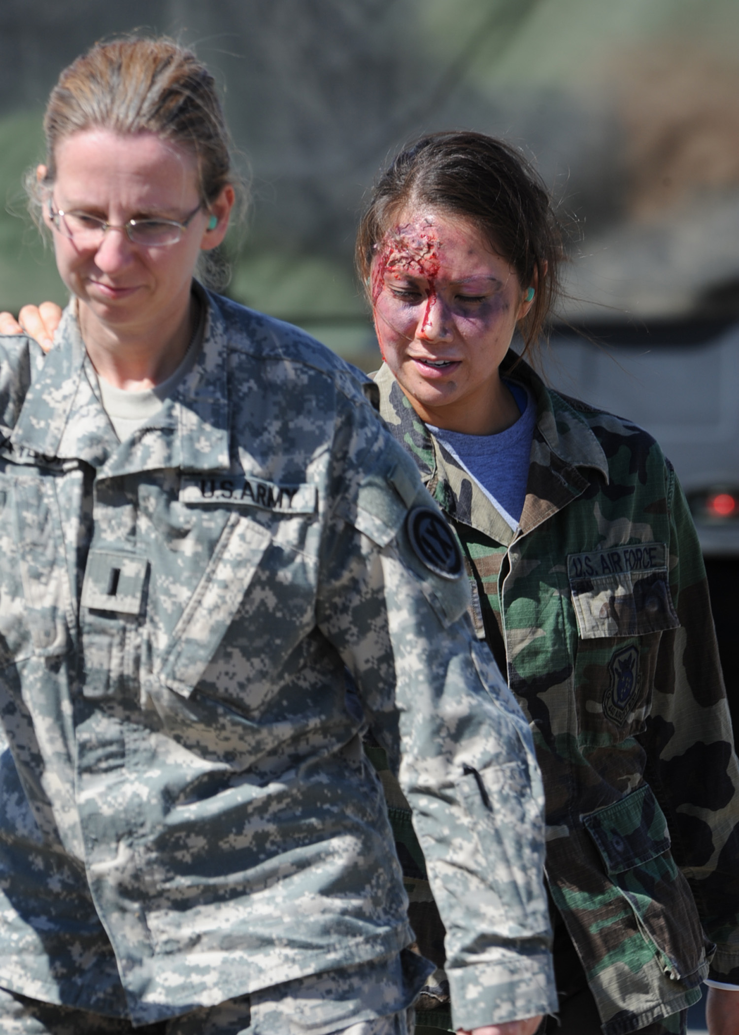 Bragg Pope Forces Conduct Joint Mass Casualty Exercise