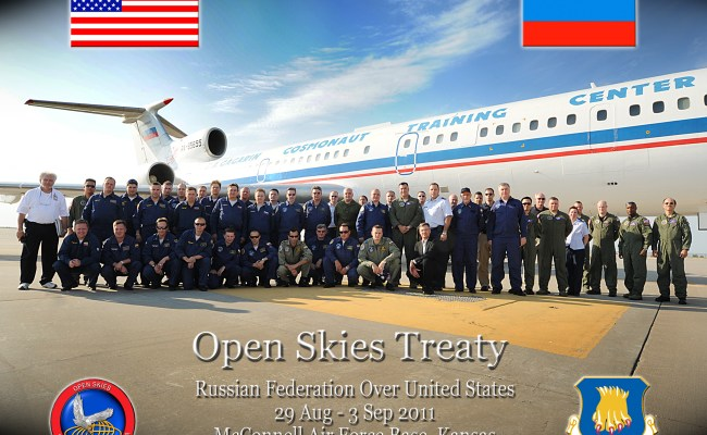 Mcconnell Hosts Russian Federation For Open Skies Treaty