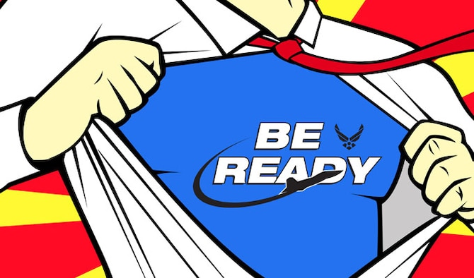 'be Ready' To Be A Hero > Us Air Force > Article Display