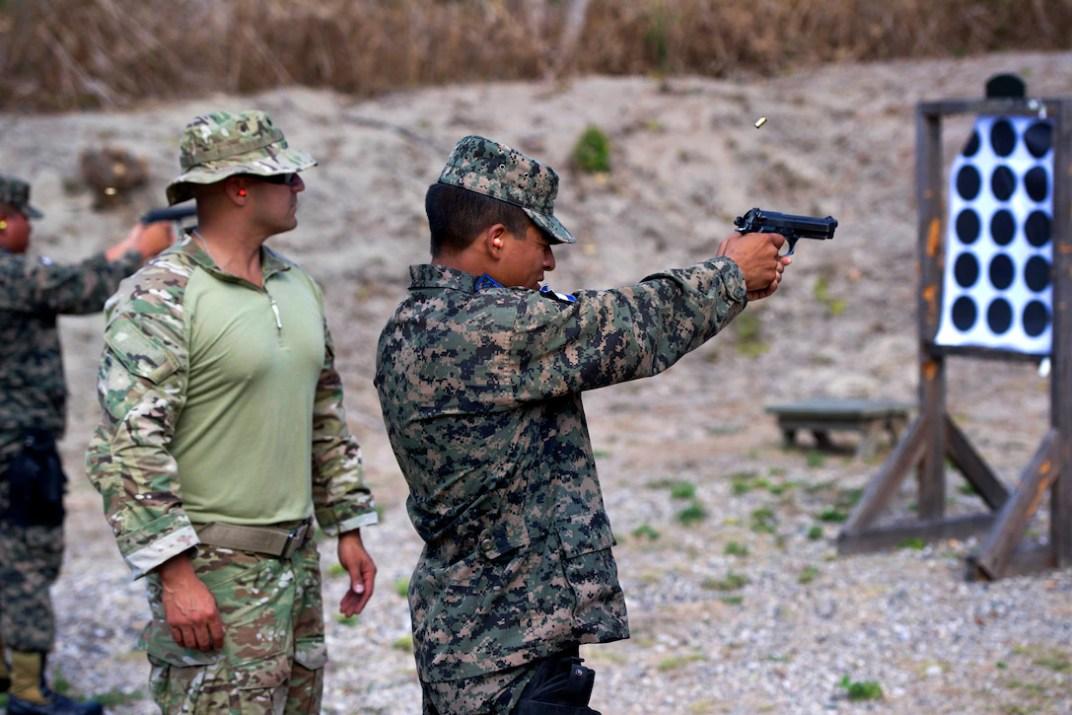 Special Forces Honduran Airmen