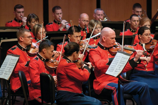 Holiday Concert at the National Museum of the Marine Corps  United States Marine Band  News