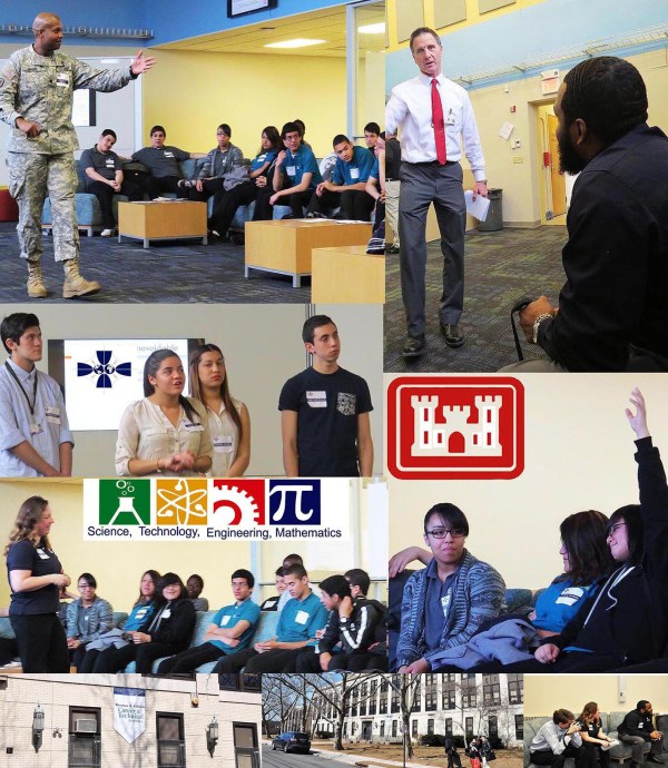 Army Corps Participates In Stem Education Jersey