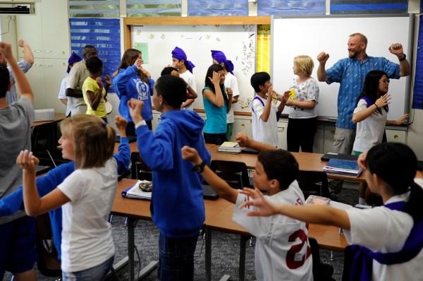 Konan Middle School Shares Culture With Ryukyu