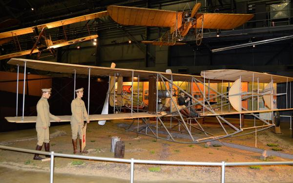 Wright 1909 Military Flyer National Museum Of Air