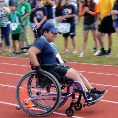 Wheelchair Olympics Outdoor Chair Covers Walmart Team Andersen Supports Special Guam Athletes