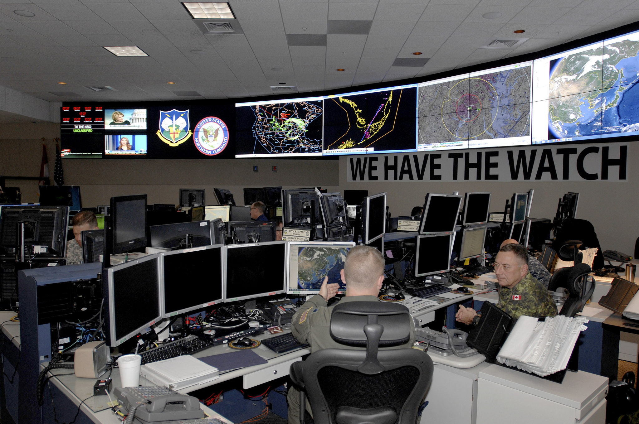 Force Protection Level Boosted at DoD Facilities