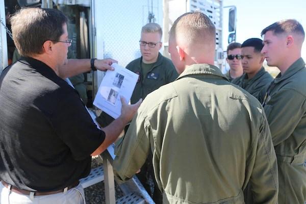 ARFF Marines test to operate MAFTD  Marine Corps Air
