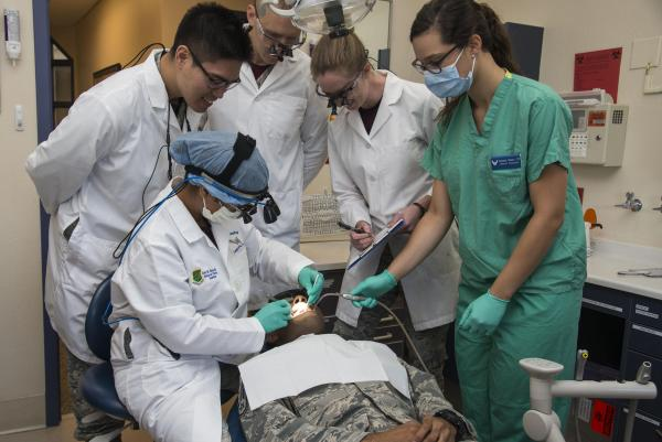 375th Dental Squadron Safb Conducts Education