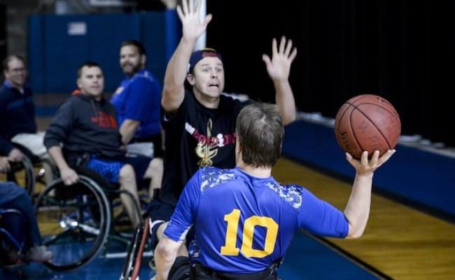 Wheel Chair Basketball Game Brings National Disability